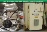 T-Shirt Bag Extrusion Line, Thermoformer 2