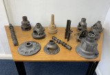 Foundry and Finishing Machinery from Greensand Casting 1