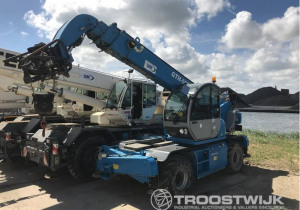 Important online auction of Terex mobile cranes due to bankruptcy of SIM spa