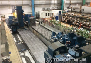 Final Tender sale of a CNC boring and milling center Skoda W150/MU1200, x = 20 m, with rotor milling machine – SE
