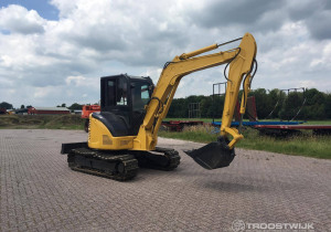 Exceptional online auction of construction, park and landscape machinery