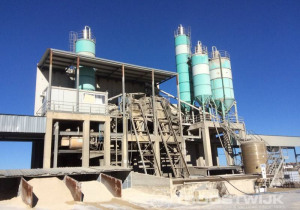 Concrete production plant in Italy due to bankruptcy