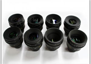 Online Auction: Cinema Cameras, Lenses & Support