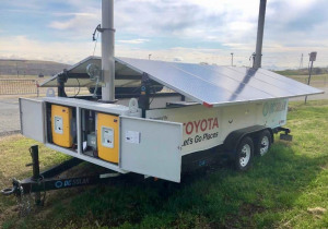 550+ Mobile Solar Generators and 30 Trailers
