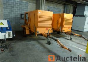 23 Mobile Generators for Sale via Online Auction