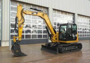 Surplus Construction Machinery from CAT, JCB: Brisbane Auction