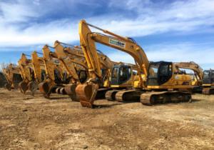 Public Auction: Construction Equipment Fleet