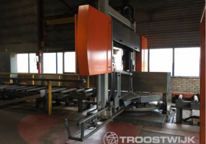 Auction of Complete Steel Production Company: CNC Band Saw, Cutting Machines and More