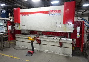 Auction: Cannon Equip Including Mazak Laser, Press Brakes, Shear, Saws, Toolroom