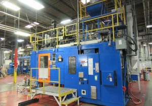 Complete Blow Moulding Facility Auction: 250+ Lots for Sale