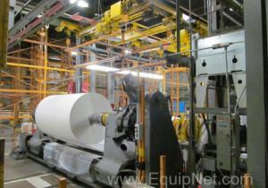 Liquidation d'une installation de revêtement de papier: enchères de plus de 1100 lots