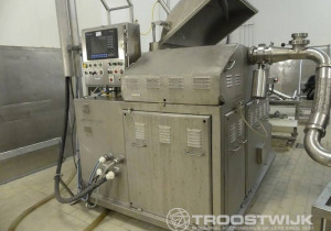 Online auction of prepared meat machinery