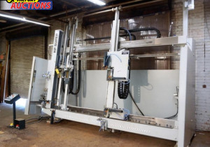 200+ Lot Auction of Wood Windows and Doors Machinery