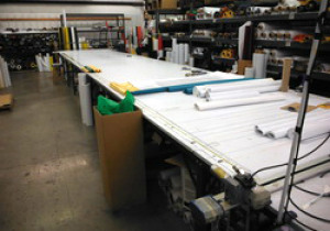 Online Auction of Assets from a Banner Printing and Manufacturing Company