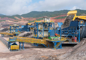 Unused Crushing Plant Support Installations