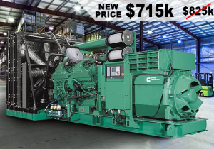 Brand New Generator Set and More