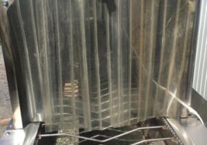 Station de lavage de laveuse de citrouille