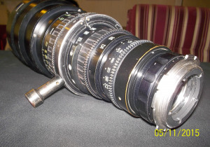 ANGENIEUX HR ZOOM LENS