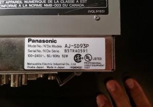 Panasonic AJ-SD93P