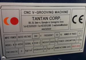 CNC V-Grooving  V-4050