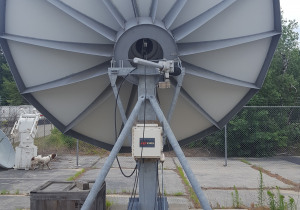 Patriot Antenna 4.8m X band hub