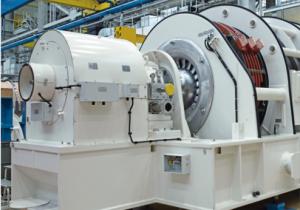Gas turbine SIEMENS SGen5-100A Turbogenerator