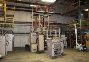"Gloucester 24"" Mono Layer extrusion line"