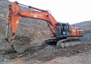 Used Hitachi ZX650 LCH Crawler Excavator (3 excavators)