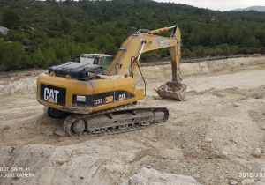 Used Caterpillar 325D L Crawler Excavator