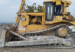 Used Caterpillar D7H Crawler Dozer