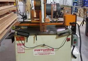 "Pistorius 20"" Pneumatic Saw for Cutting Aluminum and Wood"