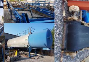 Used asphalt plant ERMONT