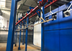 Avin Aluminum Powder Coating Line