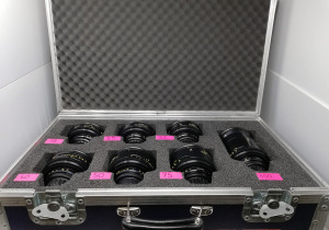 Cooke Speed Panchro 7 lenses set TLS rehousing