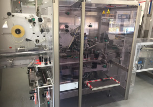 Neri BL400 VTE TT labeller for tamper evident labelling of cartons