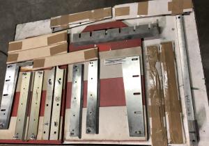 Müller Martini 890 4th+5th knife kit for Müller Martini 890 trimmer
