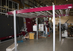 Fully Automatic 2014 Lisec Insulating Glass Line (2000X2500mm)