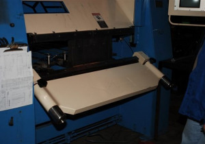 YSRAD Hydraulic, Single Directional Bending System with 3-Axis Controller Model KME 1200 mm x 4 mm