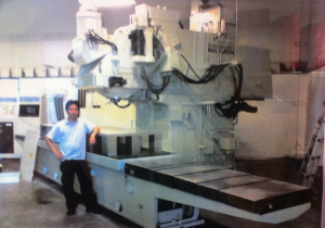 "HITACHI SEIKI HG-400 w/ 4th Axis, (24) 16"" Pallets, 22""x23""x20"", CT40, 12K RPM, 120 ATC, Mark III Ctrl"