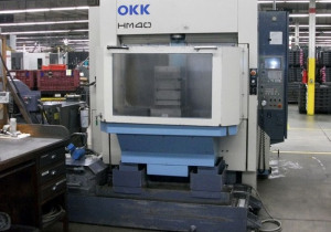OKK HM-40 CNC HORIZONTAL MACHINING CENTER