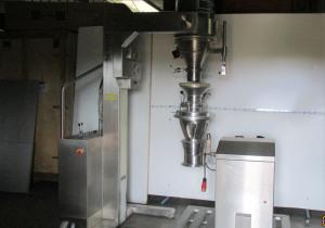 Granulator Conical Mill Frewitt Coniwitt Tc 227 And Servolift Lifting Column