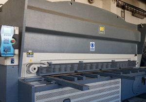 Hydraulic Table Shears Haco, Type Hslx 3016