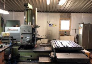 TOS Varnsdorf WHN 9 A Horizontal Boring Machine