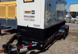 Caterpillar Portable Diesel Generator, Model Xq200, New In 2012