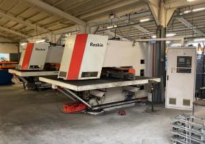 Beyeler Raskin CNC Punching machine RT 210 / 12 2540 x 1016 x 6 mm 5198 = Mach4metal