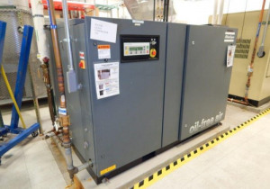 125 Psi Atlas Copco Zr55 Oil-Free Air Compressor