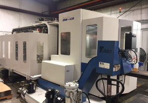 Doosan Dhm 630 Cnc Horizontal Machining Center, New In 2007