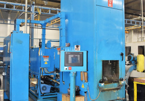 2012 - Bms - Broaching Machine Specialties Mdl. Cell-Mate Bmcm-1554 15 Ton X 54″ Table-Up Hydraulic Internal Broaching Machine