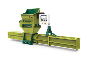 GREENMAX A-C200 plastic EPS compactor