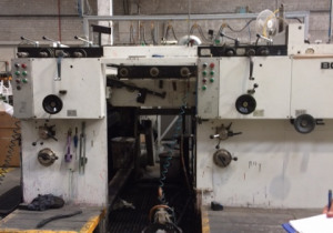 Bobst 1575 SPO Flexo 2 color (without Die Cutting section)